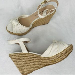 Montego Bay Jute Wedge Ankle Sandals